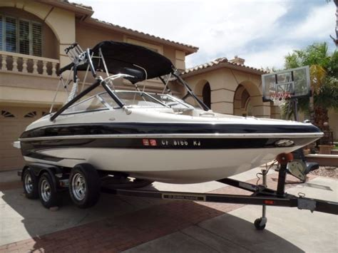 runabout boat top speed 2006 glastron gx205 bowrider speed boat no reserve