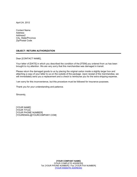 Letter Of Agreement To Return The Vehicle Banjercito return authorization letter template sle form