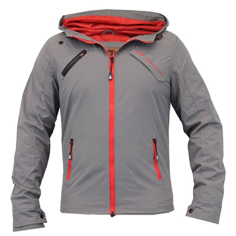Hooded Padded Lightweight Jacket mens jacket windbreaker coat padded hooded twisted faith