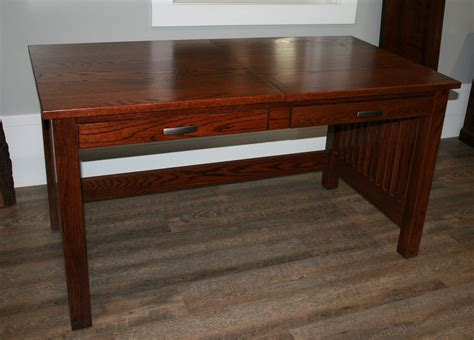 sit stand desk wood amish valley solid wood sit stand writing desk