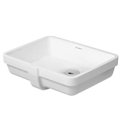 duravit bathroom sinks duravit 03304300001 vero 16 7 8 inch undermount porcelain