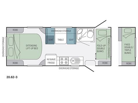 starcraft rv floor plans jayco starcraft 20 62 3 rv towing caravans specification