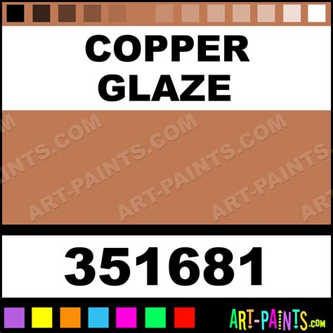 copper glaze scrapbooking foam styrofoam foamy paints 351681 copper glaze paint copper