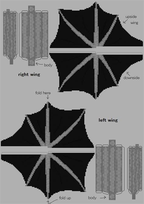 Ender Papercraft - papercraft ender minecraft paper craft