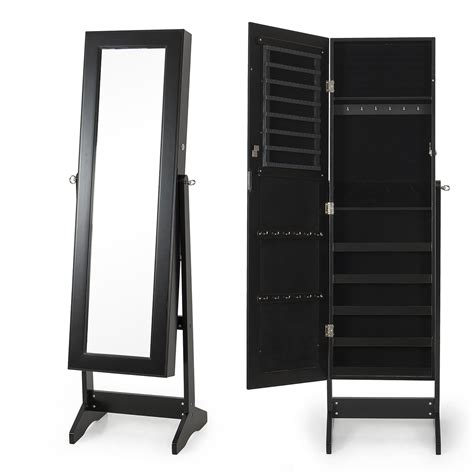 mirrored jewelry cabinet armoire new mirrored jewelry cabinet mirror organizer armoire
