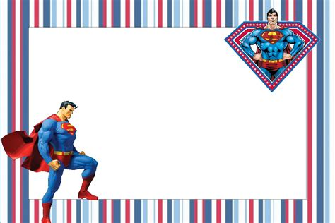 superman free printable invitations oh my in