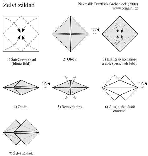 Fish Base Origami - origami fish base