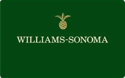 Williams Sonoma Gift Card Discount - williams sonoma gift card review buy discounted promotional offers gift cards no fee