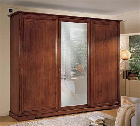 armadio ante specchio armadio 3 ante scorrevoli con specchio df mobili classici