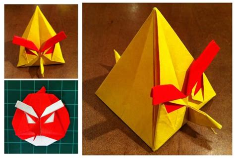 Angry Birds Origami - dong on quot origami angry birds one of