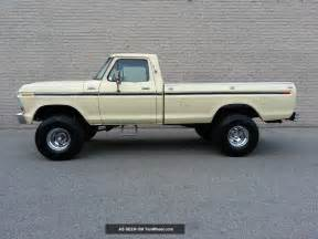 1979 Ford F 150 1979 Ford F150 4x4 Custom 351 V8 Rust 4 Inch Lift