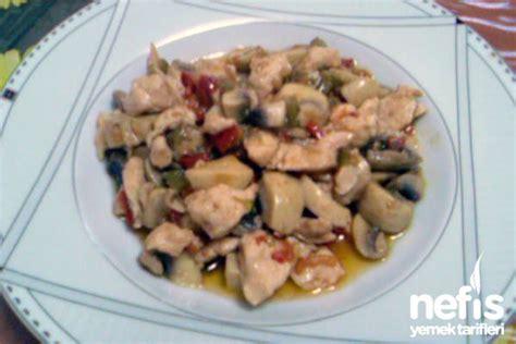 mantarli tavuk sote lezzet tanesi yemek tarifleri mantarlı tavuk sote tarifi nefis yemek tarifleri