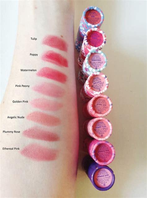 Tarte Amazonian Clay Lipstick tarte amazonian butter lipstick review swatches sweet