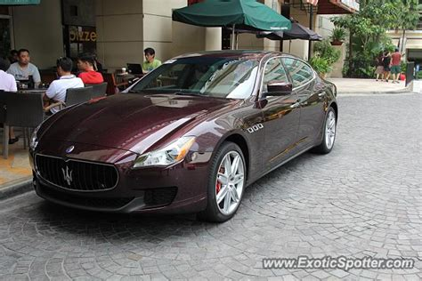 maserati philippines maserati quattroporte spotted in makati philippines on 06