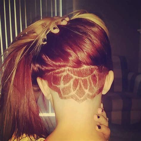 undercut pattern tumblr dyed undercut tumblr hair designs pinterest girls