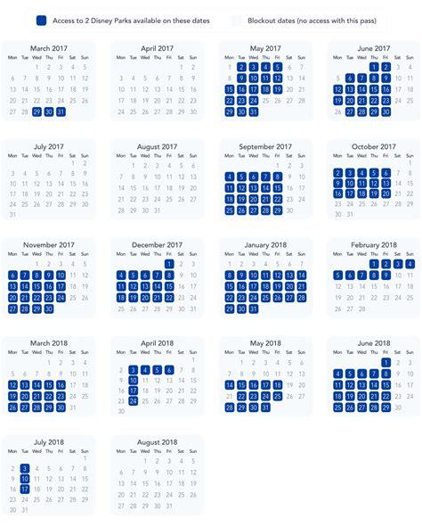 Disneyland Blackout Calendar Annual Pass Blockouts Dlp Guide Disneyland Trip