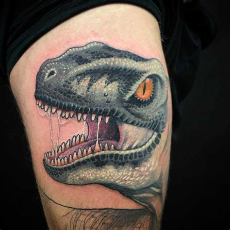 velociraptor tattoo raptor www pixshark images galleries with a