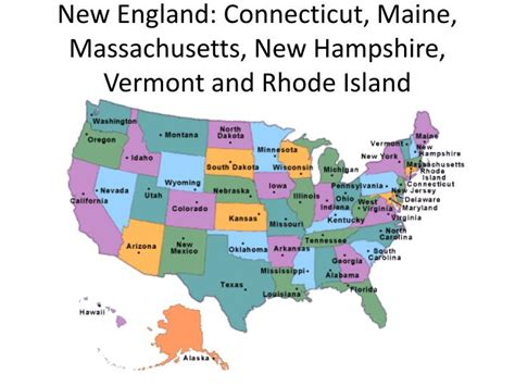 map of maine new hshire vermont massachusetts rhode island and connecticut world ppt objective 6 01 early american housing 1640 1720 powerpoint presentation id 2376249