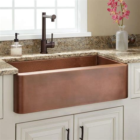best farmhouse sink for the 25 best ideas about copper sinks on copper