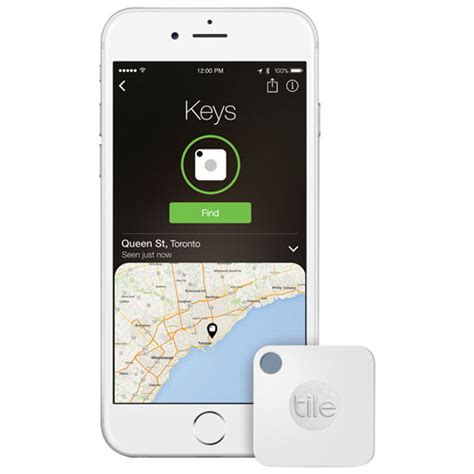 Tile Tracker Canada Tile Mate Bluetooth Item Tracker 1 Pack Item Tracking