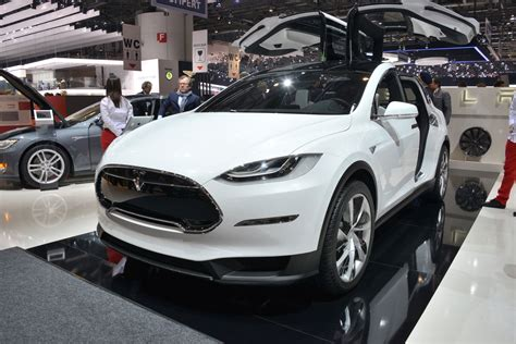 Tesla Car X Tesla To Launch Model X Crossover On September 29 Luxuo