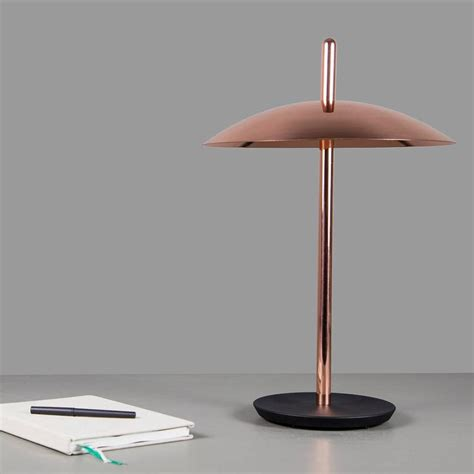Light Desk L by Signal Table Light From Souda Polished Brass Modern Desk