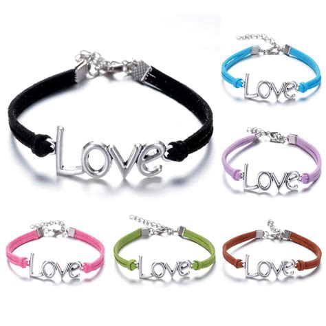 Handmade Infinity Bracelet - wholesale lots fashion style leather infinity