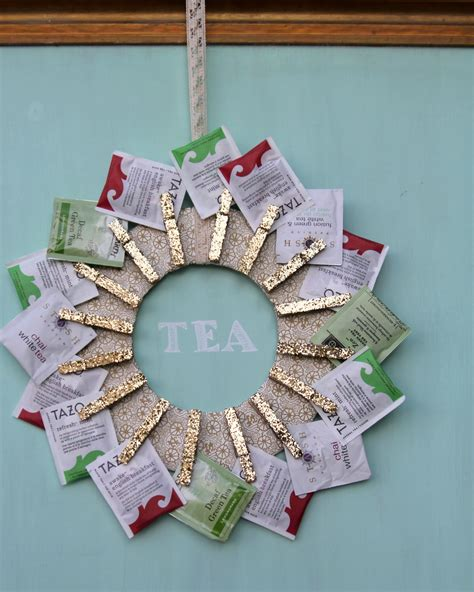 Handmade Photo Gifts - handmade gift idea diy tea wreath