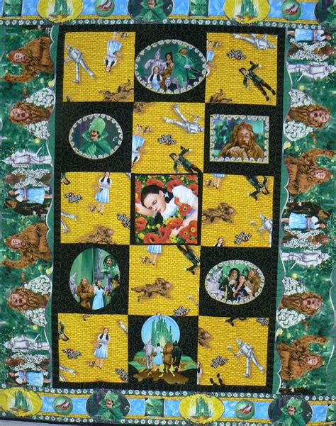 Oz Quilts made custom wizard of oz custom quilt by arlene s quilts and embroidered pictures