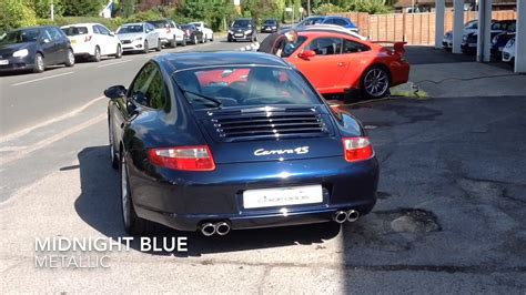 porsche midnight blue midnight blue porsche 911 carrera 4s coupe for sale youtube