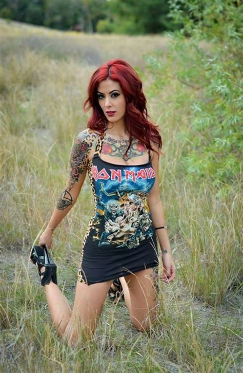 heavy models photos 73 best hot metal chicks images on pinterest heavy metal