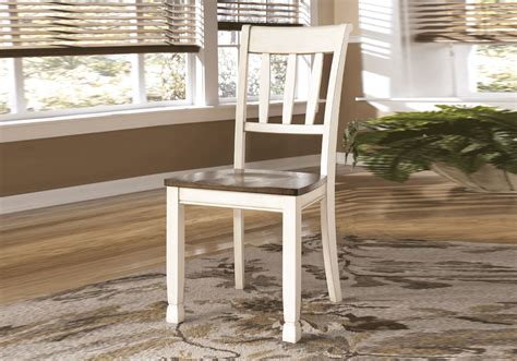 Whitesburg Dining Room Set W Bench Whitesburg Rectangular Dining Table 4 Side Chairs Bench
