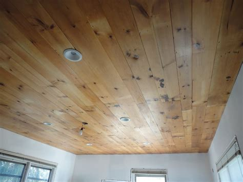 bathroom wood ceiling ideas diy wood plank ceiling in the bathroom ideas the clayton