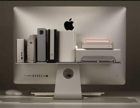 Imac Shelf by Float Shelf For Imac And Apple Displays 187 Gadget Flow