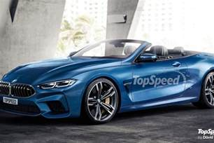 What Does Bmw Bmw M8 Convertible Rendered By Top Speed