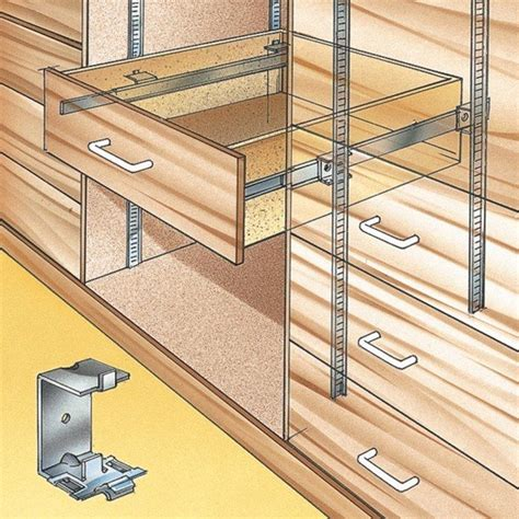 cabinet adjustable shelf hardware accuride shelf standard slide brackets infinite drawers