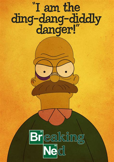 breaking ned a walter white ned flanders mashup series