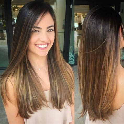 balayage medium length hair pictures to pin on pinterest image result for hair brown straight layers spring 2017