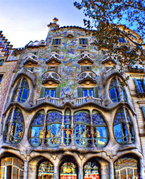 barcelona gaudi architecture casa batll 243 antoni gaudi barcelona spain
