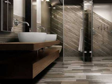 bathroom tile that looks like wood wood look tile bathroom
