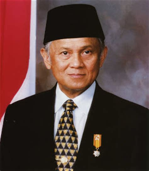 Biography President Habibie | b j habibie biography the third president of the