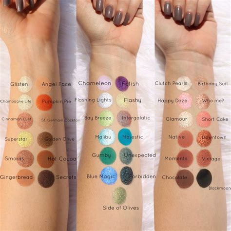 Coloured Raine Pressed Powder Shadow Palette 2251 125 best swatches images on