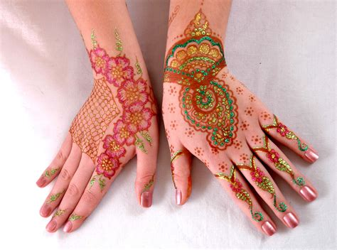 henna design with glitter stylish henna designs for hands new mehndi styles