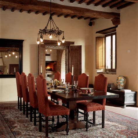 tuscany dining room settled in tuscany villa tour dining room