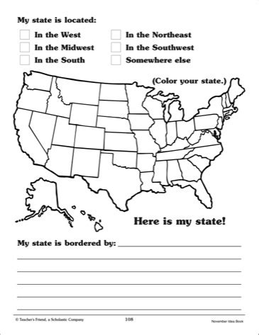 8 best images of state report template printable state