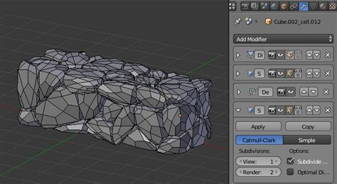 blender tutorial walls create stone wall in blender tip of the week evermotion