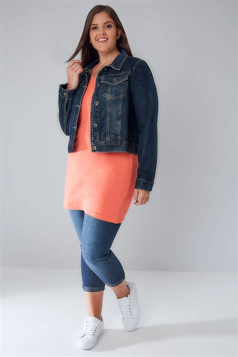 Can You Do A Return On A Visa Gift Card - indigo denim jacket with front pockets plus size 16 to 32