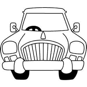 cartoon jeep front preschool coloring sheets jeep coloring pages
