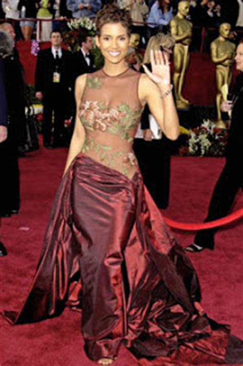 No Halle At The Oscars by So Freaking Best Dressed Oscar Winners
