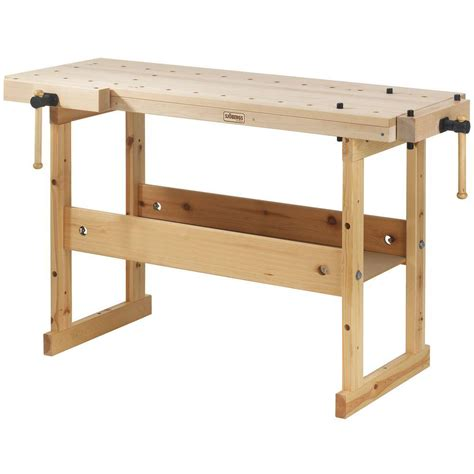 husky 1 8 ft x 3 ft portable jobsite workbench 225047